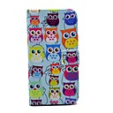 Various Owls Pattern PU Leather Full Body Case for Samsung S5 I9600
