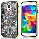 Cartoon Design Billede TPU + PC 2-i-1 Hard Case Cover til Samsung Galaxy S5 I9600