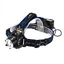 Hoofdlampen LED 3 Mode 1200 Lumens Verstelbare focus / Waterdicht / Oplaadbaar Cree XM-L T6 18650 Multifunctioneel - AnderenAluminium
