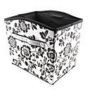 teste padrão de flor caixa de armazenamento tipo convexo