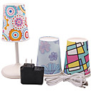 Creativity Plastic USB LED Night Light (Include 1 Power Adapter & 1 USB Data Line &5 Waterproof Shade)