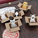 Small Carton Animal Toy Self-stick Notes(Random Color)