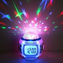 Muziek Sterrenhemel Star Sky Projection Alarm Clock kalender thermometer