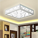 Buy Flush Mount , Modern/Contemporary Traditional/Classic Painting Feature LED Wood/BambooLiving Room Bedroom Dining Study