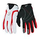 Buy BOODUN® Sports Gloves Women's / Men's Cycling Spring Bike Anti-skidding Full-finger Leather Nylon Polyester PU