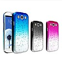 Waterdrop Gradient Color Transparent Hard Case for Samsung Galaxy S3 I9300(Assorted Colors)