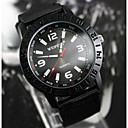 Mens Black Military Army Pilot Fabric Strap Sports Outdoor Quartz Wrist Watch(Assorted Colors)
