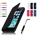VORMOR® PU Leahter Case & Touch Pen for iPhone 5C (Assorted Colors)