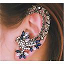 Europäische Diamant Papagei Silberlegierung Ohr Manschetten (blau) (1 PC)