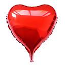 18 pulgadas de membrana de aluminio azul corazón día globo de la fiesta de San Valentín