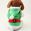 Dog Coat Green Winter Cartoon Cosplay
