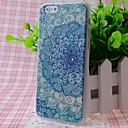 Zircon Beautiful Flowers Pattern Good Feeling Effect of Embossment Back Case for iPhone 6