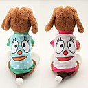 Dog T-Shirt - XS / S / M / L - Summer - Blue / Pink - Cosplay - Cotton
