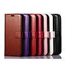 Solid Color Pattern PU Leather Cover with Stand and Card Slot for iPhone 6 Case 4.7 inch(Assorted Colors)