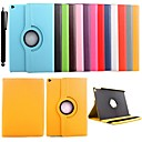 KARZEA® 360 Degree Rotating PU Leather Case with Stand and Stylus for iPad Air 2 (Assorted Colors)