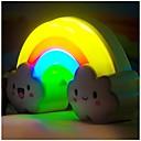 lnduction LED de la noche las luces del arco iris