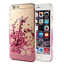 Peach Blossom Raindrop Pattern PC Hard Case for iPhone 6