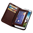Durable PU Leather Wallet Case for Samsung Galaxy S4 I9500