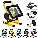 10W 1 High Power LED 1000 LM Cool White Rechargeable LED Flood Lights AC 100-240 V