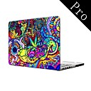 Colorful Pattern Full-Body Protective Plastic Case for MacBook Pro 13