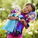 Frozen Sparkle Princess Elsa and AnnaStuffed Soft Plush Doll (2pcs 21 Inch)