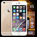 Front and Back HD Screen Protector for iPhone 6  (5PCS)