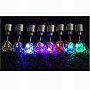 플래시 패션 다채로운 LED 귀걸이 (일쌍)