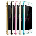 Ultra Thin Slim Metal Aluminium Bumper Case Cover Frame for iPhone 6 (Assorted Colors)