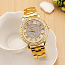 Women's Fashion Style Rose Gold Stainless Steel Band Quartz Analog Wrist Watch
