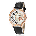 Buy Women's Quartz Butterfly Dial Diamante Case PU Band Analog Fashion Watch (Assorted Colors) Cool Watches Unique