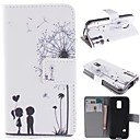 Dandelion and the Design of Lovers PU Full Body Case with Stand with Card Slot for Samsung Galaxy S5 Mini