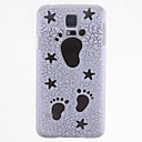 Cartoon Footprints Pattern Hard Case for Samsung Galaxy S5 I9600