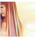 1pc punk colori fluorecent capelli pezzo / perm&tagliare fattibile