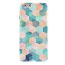Color Dreamlike Lattice Design Hard Case for iPhone 6