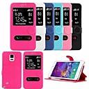 GOFO Special Design Cases with Stand PU Leather for  Samsung Galaxy Note 4 (Assorted Colors)
