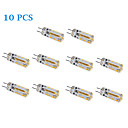 10 pcs G4 2W 170 LM Warm White / Cool White LED Spotlight DC 12 V