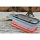 Transparent Hard PC TPU Cover Case for  Samsung S4 I9500 (Assorted Colors)