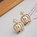 Sell Like Hot Cakes Of The Alloy And Rhinestone Earrings