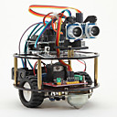 Funduino Little Smart Turtle + Smart Car Learning Kit for Arduino