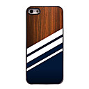 Black Stripe Design Aluminium Hard Case for iPhone 5/5S