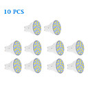 10 pcs GU10 7 W 18 SMD 5630 570 LM Warm White / Cool White Spot Lights AC 220-240 V