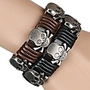 Buy Bracelet/Strand Bracelets / Friendship Wrap Vintage Leather Alloy LeatherParty Daily