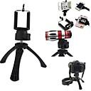 bærbare høj kvalitet kamera stativ holder med mobiltelefon mount til iPhone, Samsung og andre