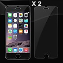 0.4mm Ultra Thin Anti-Shatter Anti Shock 9H Explosion-proof Tempered Glass Screen Protector for iPhone 6 Plus(2PCS)