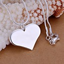 Buy Necklace Pendant Necklaces Jewelry Wedding / Party Daily Casual Fashion Sterling Silver 1pc Gift