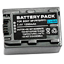 1250mAh Video Recorder Battery NP-FH100 for Applicable Sony NP-FP71 NP-FP90 HDR-UX FP50