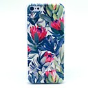 Beautiful Flower Pattern Hard Cover Case for iPhone 5C