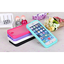 TPU Materials About Design Clamshell Touch Screen for iPhone 5/5S (Assorted Colors)