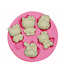 Hello Kitty Silicone Mould Cake Decorating Silicone Mold For Fondant Candy Crafts Jewelry PMC Resin Clay