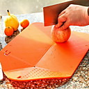 Fashion Multi-function Folding Fruit&Vegetable Chopping Block Basket For Cooking Tools